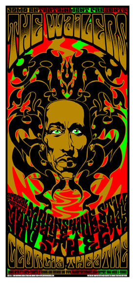 2001 The Wailers & Moonshine Still Poster or Handbill - Zen Dragon Gallery