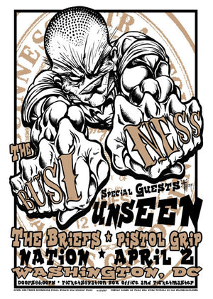 2002 The Business/Unseen DC Show Poster - Zen Dragon Gallery