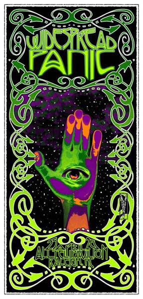 2003 Widespread Panic Raleigh - Zen Dragon Gallery
