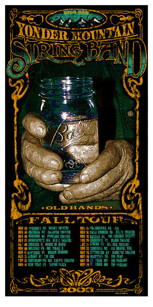 2003 Yonder Mountain Old Hands Tour - Zen Dragon Gallery