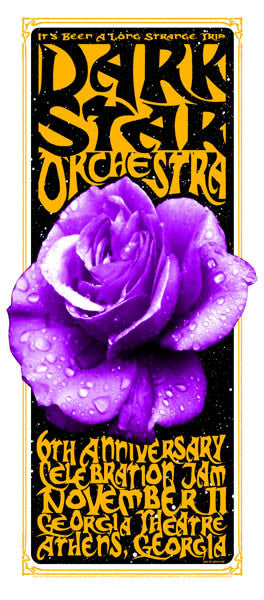2003 Dark Star Orchestra Georgia Theatre Show Poster or Handbill - Zen Dragon Gallery