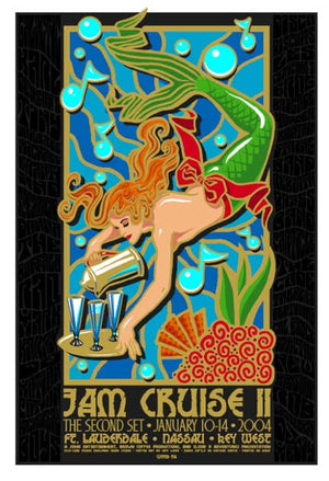 2004 Cloud 9 Adventures Jam Cruise 1 & 2 Single & Uncut Editions - Zen Dragon Gallery