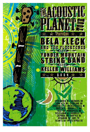 2004 Acoustic Planet Tour Poster - Zen Dragon Gallery