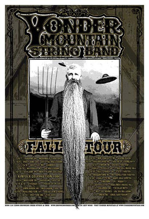 2004 Yonder Mountain Fall Tour - Zen Dragon Gallery