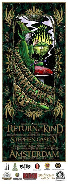 2004 High Times Cannabis Cup Event Poster - Zen Dragon Gallery