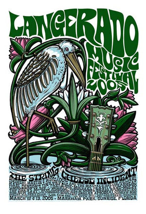 2005 Langerado Music Festival Event Poster - Zen Dragon Gallery