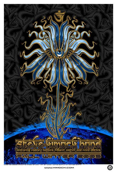 2005 Steve Kimock Band Fall Winter Tour Poster - Zen Dragon Gallery