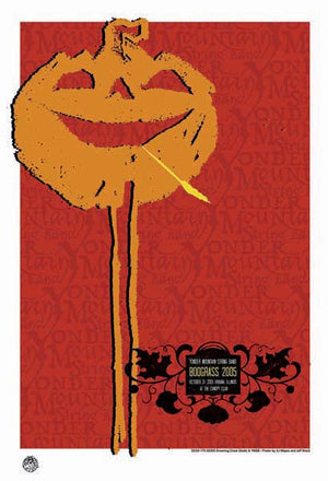 2005 Yonder Mountain String Band Boo Grass Show Poster - Zen Dragon Gallery