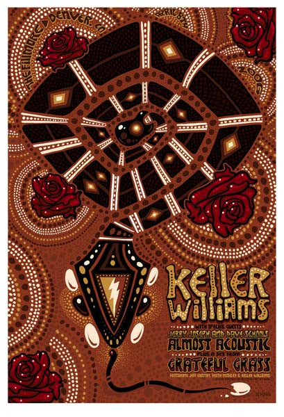 2006 Keller Williams Denver Show Poster - Zen Dragon Gallery