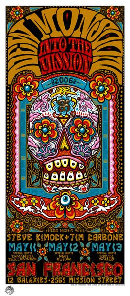 2006 New Monsoon San Fran Into the Mission Show Poster or Handbill