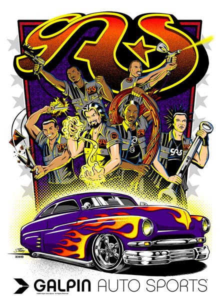 2006 Galpin Auto Sports Hot Rod Poster