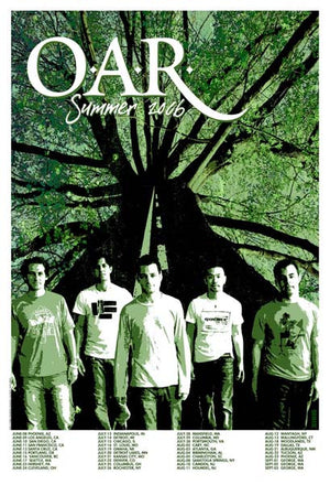 2006 O.A.R. Summer Tour Poster - Zen Dragon Gallery