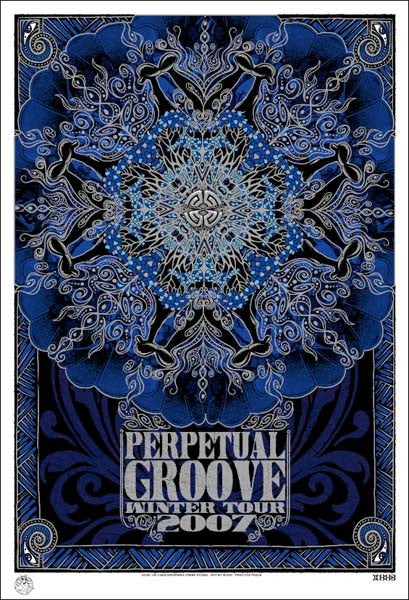 2006-07 Perpetual Groove Winter Tour - Zen Dragon Gallery