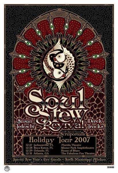 2007 Tedeschi/Trucks Soul Stew Revival - Zen Dragon Gallery