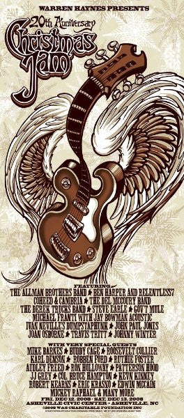 2008 Warren Haynes Christmas Jam - Zen Dragon Gallery