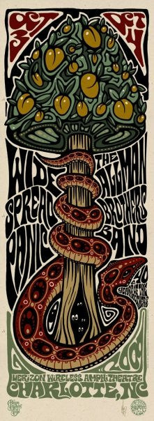 2009 Panic/Allman Brothers Charlotte - Zen Dragon Gallery