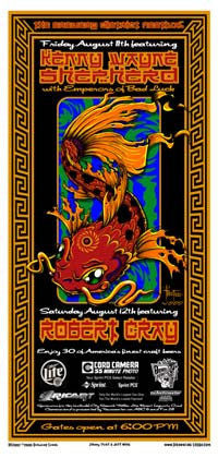 2000 Kenny Wayne Shepherd Robert Cray - Zen Dragon Gallery