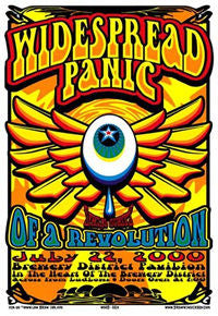 2000 Widespread Panic OAR - Zen Dragon Gallery