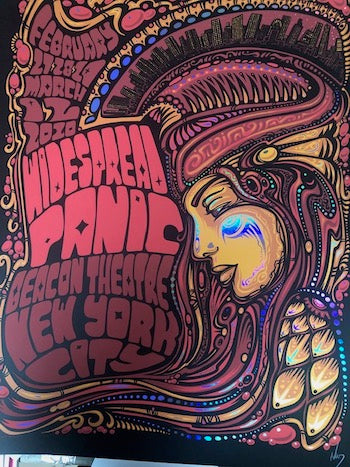 2020 WIDESPREAD PANIC BEACON - Zen Dragon Gallery