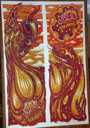 2017 311 Tabernacle Atlanta Diptych - Zen Dragon Gallery