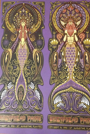 2016 Widespread Panic St. Augustine Uncut ALL VARIANTS - Zen Dragon Gallery