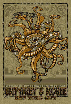 2014 Umphrey's McGee Beacon Theatre - Zen Dragon Gallery