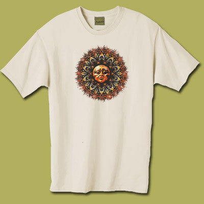Dreamtime Design Short Sleeve White Men's T-Shirt Small - Zen Dragon Gallery
