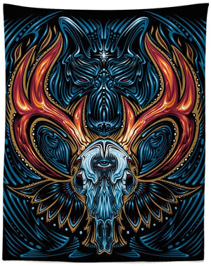 Ghost Wolf Tapestry