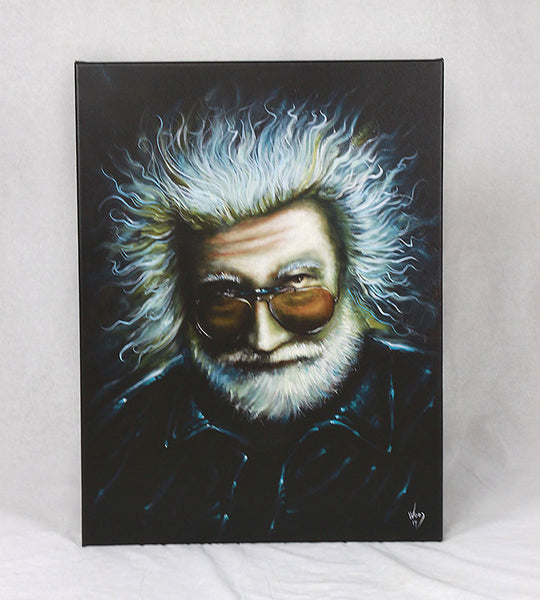 "Electric Jerry - 18"" x 24"" Stretched Canvas Giclée"