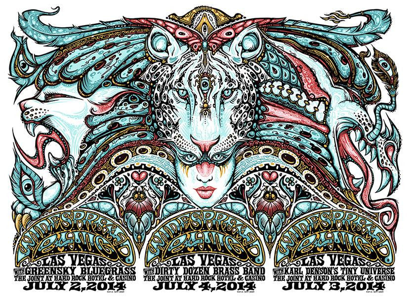 2014 Widespread Panic Vegas July 4th - Zen Dragon Gallery