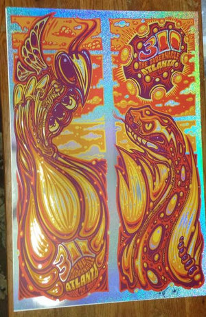2017 311 Tabernacle Atlanta Diptych Uncuts ALL VARIANTS - Zen Dragon Gallery