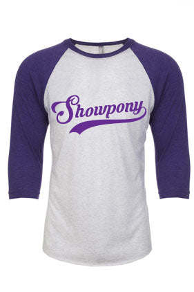 Showpony - baseball tee
