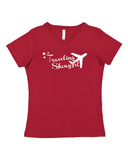 V-neck Tee - Plus size