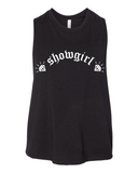 Showgirl - cropped racerback tank
