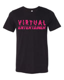 Virtual Entertainer - unisex crew tee