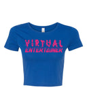Virtual Entertainer - fitted cropped tee
