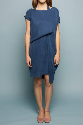 Convertible Tee Dress (Aqua Algae)