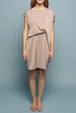 Convertible Tee Dress (Sahara Sand)