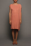 Convertible Tee Dress (Dusty Pink)