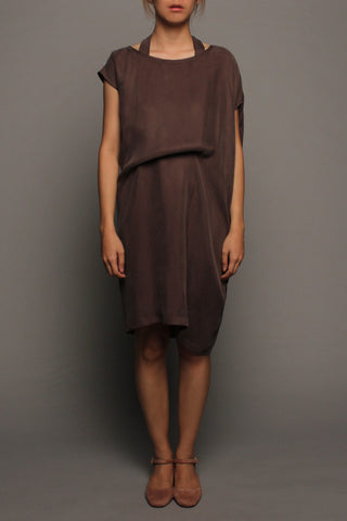 Convertible Tee Dress (Iron Ore)
