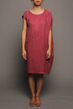 Convertible Tee Dress (Raspberry Pink)