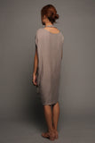 Convertible Tee Dress (Slate Grey)