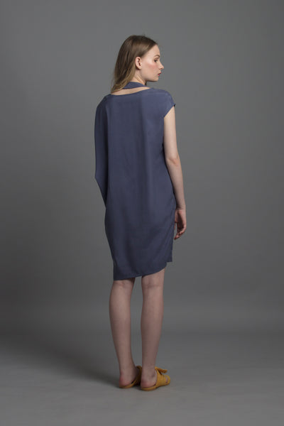 Convertible Tee Dress (Lavender)