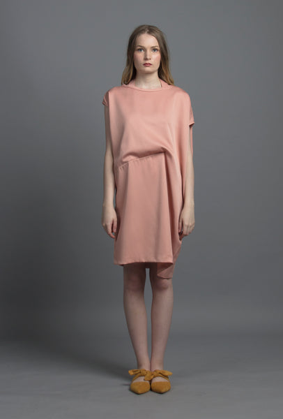 Convertible Tee Dress (Rosebud)