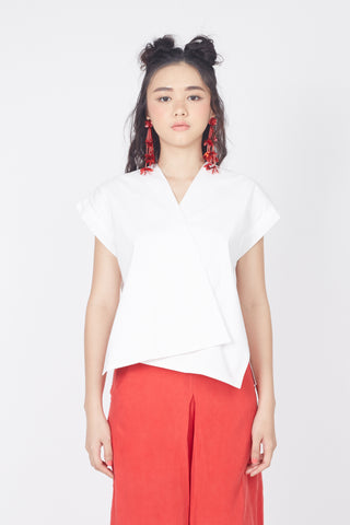 Double Flap Top (White)