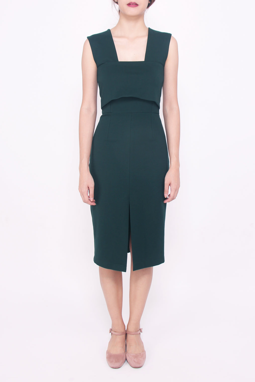 H-dress - Forest Green