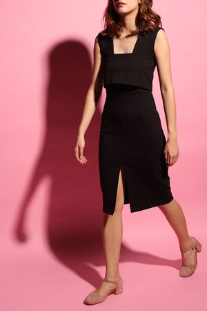 H-dress - Black Coal