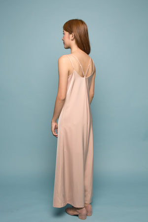 Wide-leg Jumpsuit (Coastal Sand)