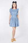 Sass Up Dress (Blue)