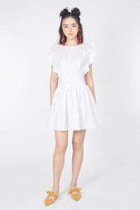 Sass Up Dress (White)